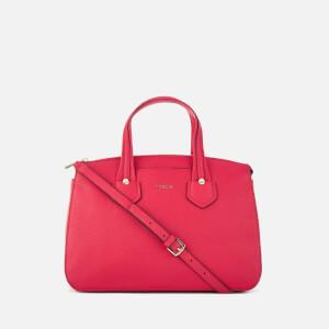Furla Women's Giada Medium Satchel Bag with Zip - Ruby