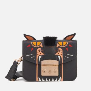 Furla Women's Metropolis Jungle Mini Cross Body Bag - Toni Onyx