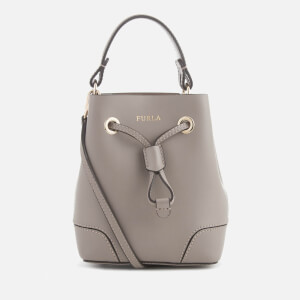 Furla Women's Stacy Mini Drawstring Bag - Tan