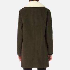 A.P.C. Women's Boreale Coat - Kaki Militaire: Image 2