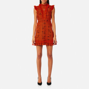Three Floor Women's Sienna Dress - Rust Red/Grape