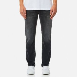 Helmut Lang Men's Washed Denim Jeans - Black
