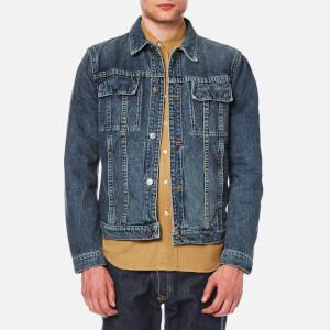 Helmut Lang Men's Heritage Indigo Wash Denim Jacket - Blue