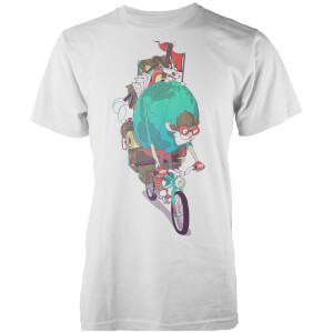 Vo Maria Mr. Traveller Men's White T Shirt