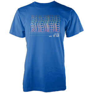 T-Shirt Homme I'm So Retro Vo Maria -Bleu