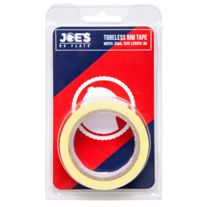 Joe's No Flats Tubeless Yellow Rim Tape - 9m x 21mm