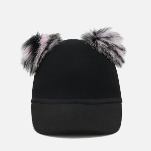 Charlotte Simone Women's Sass Cap - Pink/Black Stripe