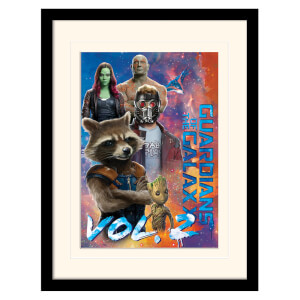 Guardians of the Galaxy Vol. 2 (The Guardians) Mounted & Framed 30 x 40cm Print