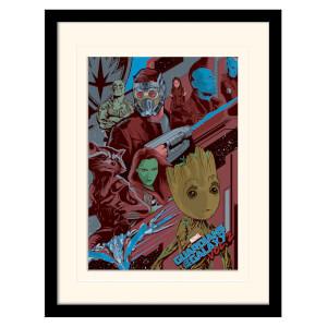 Affiche Encadrée Gardiens de la Galaxie Vol.2 (Galactique)
