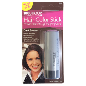 1000 Hour Hair Colour Stick - Dark Brown #102