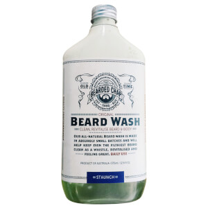 Bearded Chap Original Beard Wash Staunch 375ml