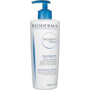 Bioderma Atoderm Nourishing Cream for Dry and Sensitive Skin 500ml