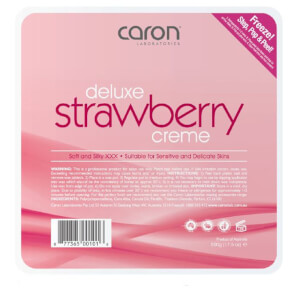 Caron Strawberry Creme Hard Wax Pallet Tray 500g
