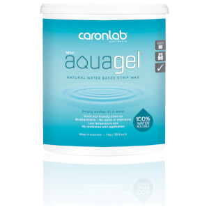 Caronlab Aquagel Natural Water Based Professional Strip Wax 1.1Kg