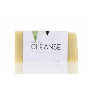Cedar + Stone Lime Balm And Chlorophyll Cleanse Bar