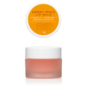 Coast to Coast Outback Desert Peach Lip Balm 15ml