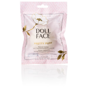 Doll Face Pretty Puff Original Natural Konjac Cleansing Sponge