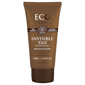 Eco Tan Invisible Tan Self Tanning Creme 150ml