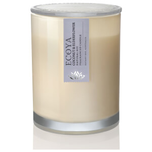 ECOYA Coconut and Elderflower Metro Jar Candle 270g