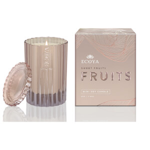 ECOYA Sweet Fruits Soy Candle 80g - Limited Edition