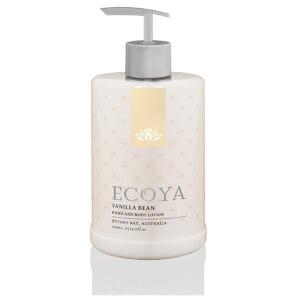 ECOYA Vanilla Bean Hand & Body Lotion 500ml