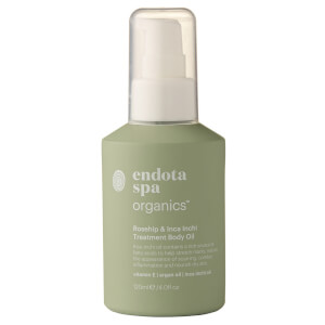 Endota Spa Organics Rosehip And Inca Inchi Treatment Body Oil 120ml