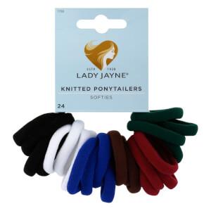 Lady Jayne Softies Hair Elastics 24 Pack