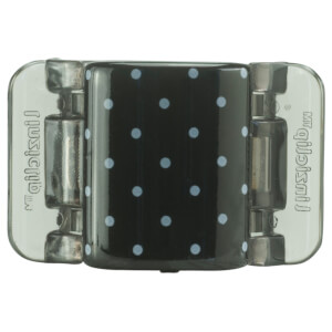 Linziclip Midi Claw Clip - Black And White Polka Dots