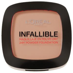 L'Oréal Paris Infallible 24hr Powder Foundation #245 Warm Sand 9g