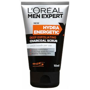 L'Oréal Paris Men Expert Hydra Energetic Magnetic Charcoal X-Treme Cleanser 150ml