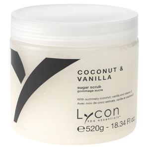Lycon Oil Free Sugar Scrub - Coconut And Vanilla 520g