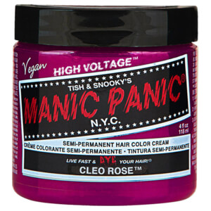 Manic Panic Semi-Permanent Hair Color Cream - Cleo Rose 118ml