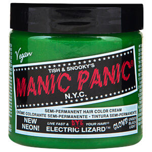 Manic Panic Semi-Permanent Hair Color Cream - Electric Lizard 118ml