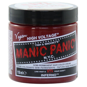Manic Panic Semi-Permanent Hair Color Cream - Inferno 118ml