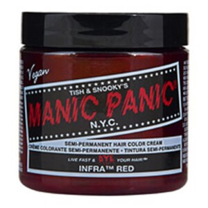 Manic Panic Semi-Permanent Hair Color Cream - Infra Red 118ml