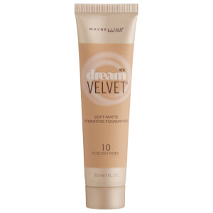 Maybelline Dream Velvet Soft-Matte Hydrating Foundation #10 Porcelain Ivory 30ml