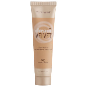 Maybelline Dream Velvet Soft-Matte Hydrating Foundation #90 Honey Beige 30ml