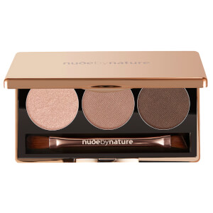 nude by nature Natural Illusion Eye Shadow Trio - Nude 3 x 2g