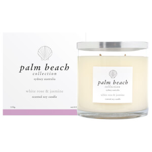 Palm Beach Collection Deluxe Candle White Rose And Jasmine 1.8Kg