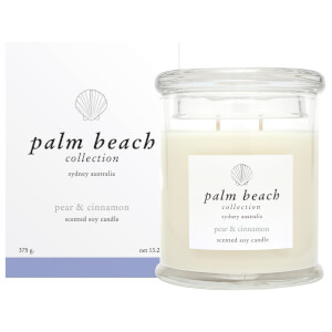 Palm Beach Collection Standard Candle Pear And Cinnamon 375g