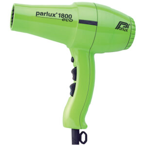Parlux 1800 Eco Friendly Hair Dryer 1280W - Green