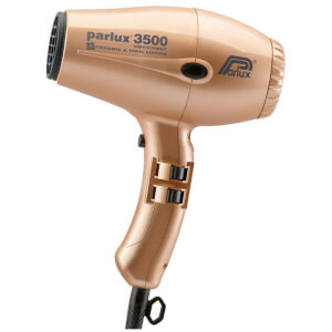 Parlux 3500 Super Compact Ceramic & Ionic Hair Dryer 2000W - Gold