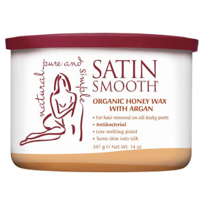 Satin Smooth Organic Honey With Argan Oil Strip Wax