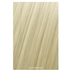 Showpony Professional Clip In Hair Extensions Heat Resistant Synthetic Style 406 - Platinum Blonde 18 Inches