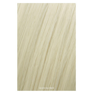 Showpony Professional Clip In Hair Extensions Heat Resistant Synthetic Style 406 - Silver Blonde 18 Inches