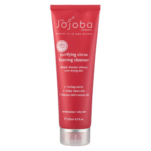 The Jojoba Company Purifying Citrus Foaming Cleanser 125ml