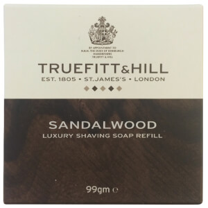 Truefitt & Hill Men's Shaving Soap Refill Sandalwood 99g