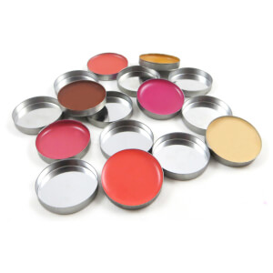 Z palette Round Metal Pans - 10 Pack