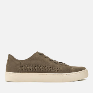 TOMS Women's Lenox Suede Cupsole Trainers - Toffee
