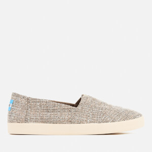 TOMS Women's Avalon Tweed Slip On Pumps - Oxford Tan